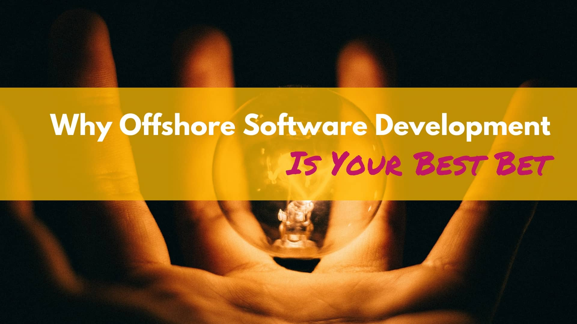 Why Offshore Software Development Is Your Best Bet?