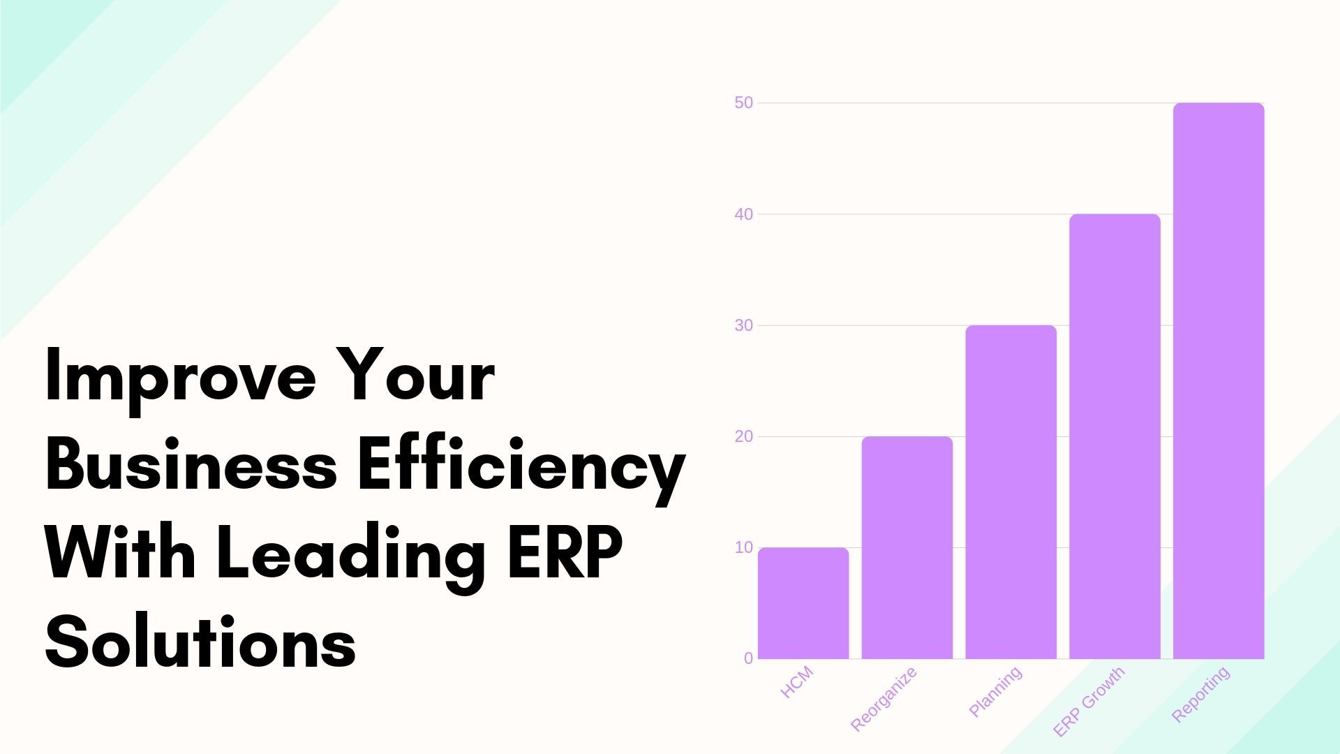 Improve Your Business Efficiency With Leading ERP Solutions
