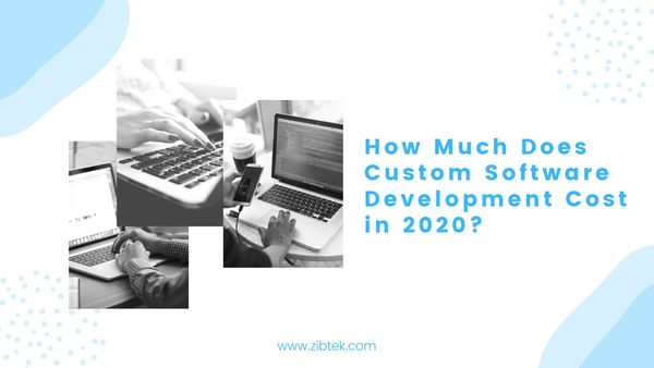 How Much Does Custom Software Development Cost in 2020?