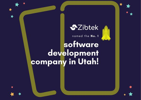 Zibtek named the No. 1 software development company in Utah!